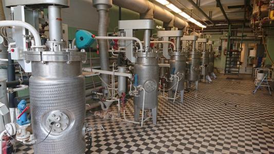 100 literes fermentorok