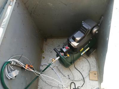 Levegőinjektálás kompresszor