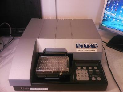 Biolog Ecoplate lemez mérése Dialab műszerrel